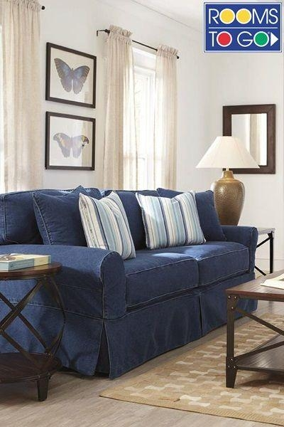 Best 25+ Denim Sofa Ideas Only On Pinterest | Light Blue Couches Throughout Blue Denim Sofas (View 3 of 20)