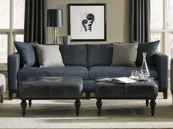 Denim Blue Jean Couch