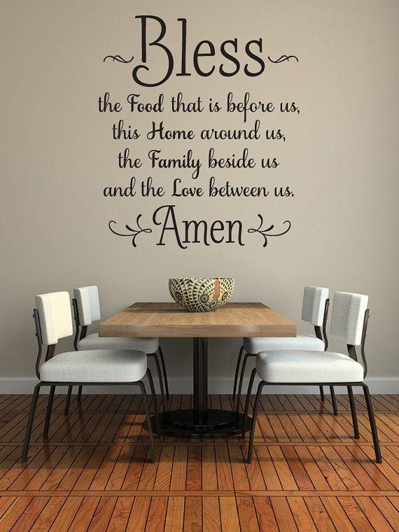 Best 25+ Dining Room Quotes Ideas On Pinterest | Rustic Kitchen With Regard To Kitchen And Dining Wall Art (Image 12 of 20)