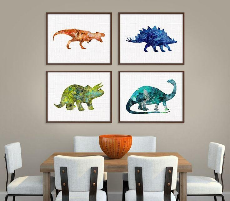 Best 25+ Dinosaur Kids Room Ideas On Pinterest | Boys Dinosaur With Regard To Dinosaur Wall Art For Kids (View 15 of 20)