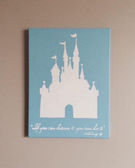 Best 25 Disney Canvas Paintings Ideas On Pinterest
