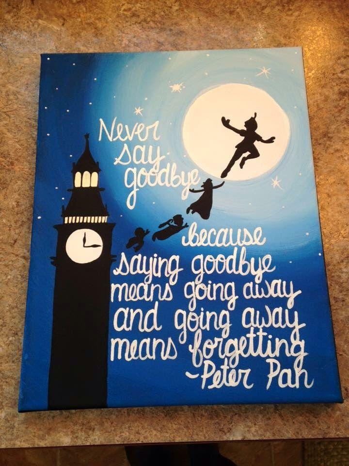 Best 25+ Disney Canvas Paintings Ideas On Pinterest | Disney In Disney Canvas Wall Art (Image 10 of 20)
