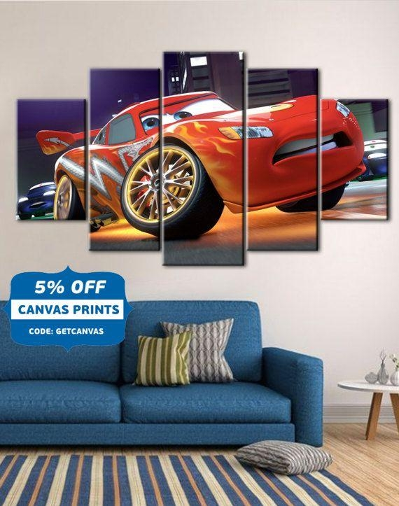 Best 25+ Disney Cars Room Ideas On Pinterest | Cars Bedroom Themes With Regard To Lightning Mcqueen Wall Art (Image 4 of 20)