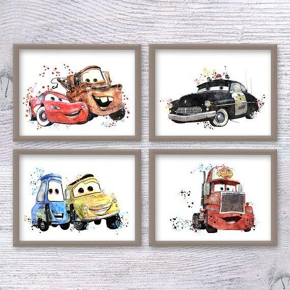 Best 25+ Disney Cars Set Ideas On Pinterest | Disney Autos Zimmer Regarding Lightning Mcqueen Wall Art (Image 5 of 20)