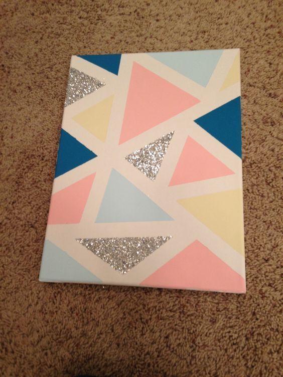Best 25+ Diy Canvas Ideas On Pinterest | Diy Canvas Art, Puffy With Regard To Diy Pinterest Canvas Art (View 8 of 20)