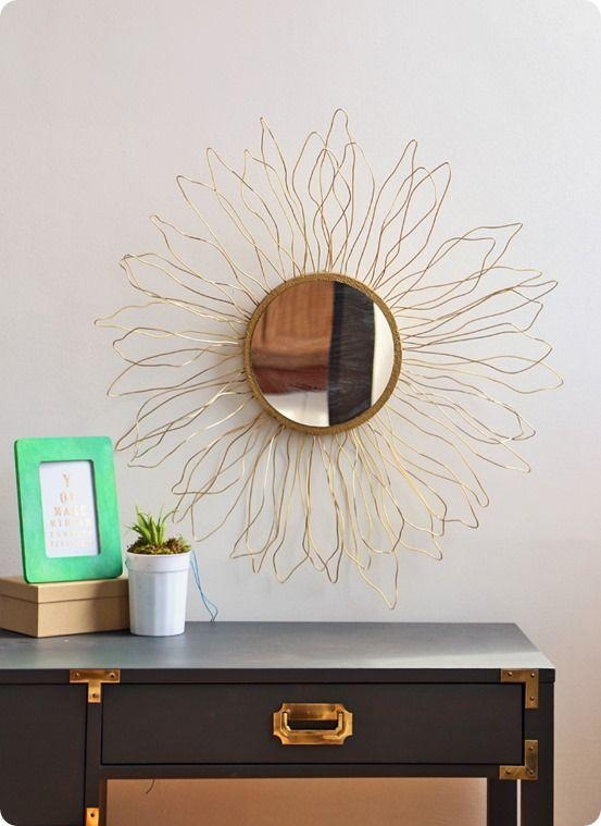 Best 25+ Diy Mirror Ideas On Pinterest | Cheap Wall Mirrors, Farm Within Diy Mirror Wall Art (Image 9 of 20)