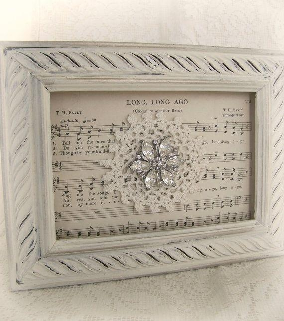 Best 25+ Doily Art Ideas Only On Pinterest | Doilies Crafts, Doily Intended For Vintage Style Wall Art (View 11 of 20)