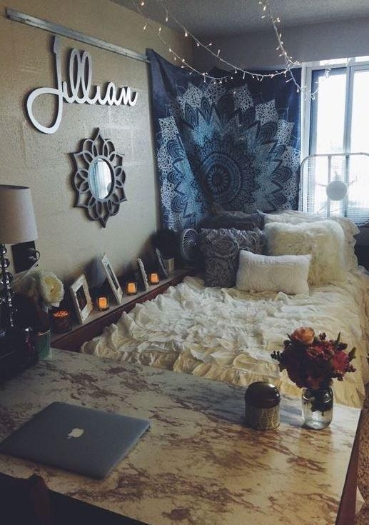 Best 25+ Dorm Room Walls Ideas On Pinterest | College Dorms, Dorm With Regard To College Dorm Wall Art (Image 11 of 20)