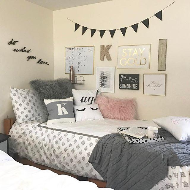 Best 25+ Dorm Room Walls Ideas On Pinterest | College Dorms, Dorm Within College Dorm Wall Art (View 6 of 20)