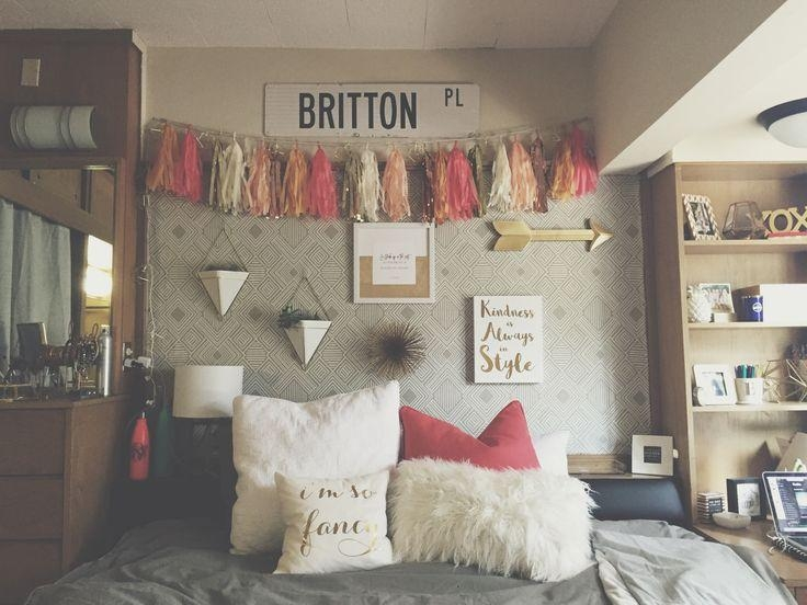 Best 25+ Dorm Wall Decorations Ideas On Pinterest | Tumblr Rooms With College Dorm Wall Art (Image 15 of 20)
