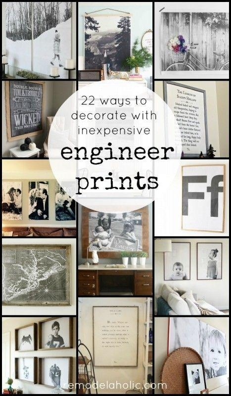 Best 25+ Engineer Prints Ideas On Pinterest | Staples Engineer Throughout Large Cheap Wall Art (View 19 of 20)