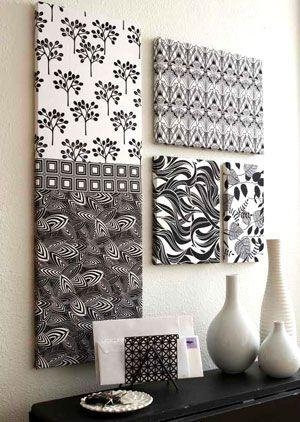 Best 25+ Fabric Wall Art Ideas On Pinterest | Large Wall Art Inside Stretched Fabric Wall Art (View 5 of 20)