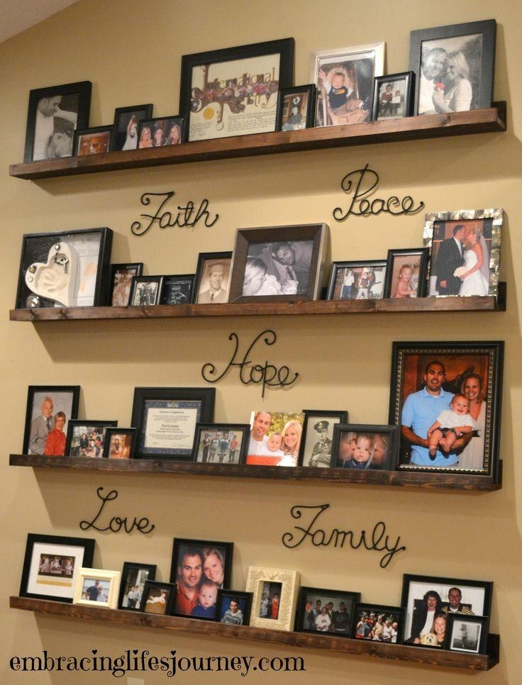 Best 25+ Family Picture Walls Ideas Only On Pinterest | Picture Regarding Family Photo Wall Art (View 17 of 20)