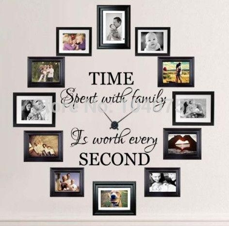 Best 25+ Family Picture Walls Ideas Only On Pinterest | Picture Regarding Family Photo Wall Art (View 4 of 20)