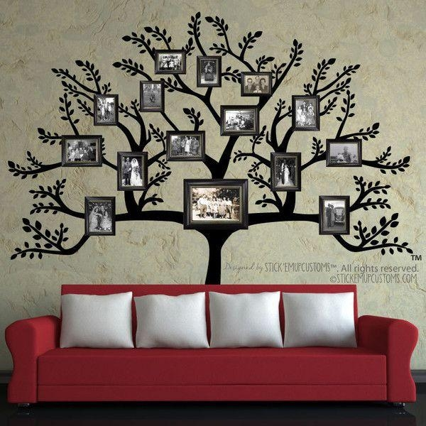 Best 25+ Family Tree Wall Decor Ideas On Pinterest | Tree Wall Within Tree Branch Wall Art (Image 3 of 20)
