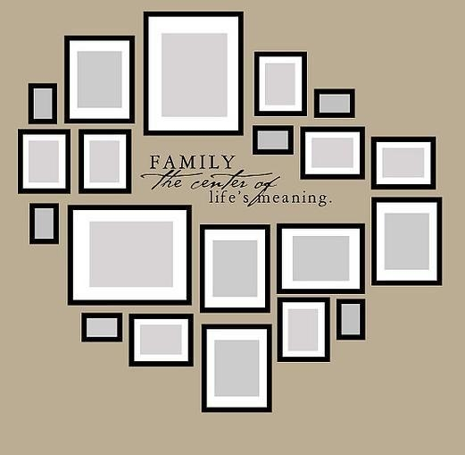 Best 25+ Family Wall Art Ideas On Pinterest | Family Wall Photos Regarding Family Photo Wall Art (View 18 of 20)