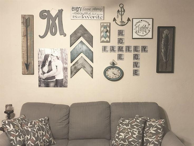 Best 25+ Family Wall Ideas On Pinterest | Family Wall Decor With Regard To Family Photo Wall Art (View 10 of 20)