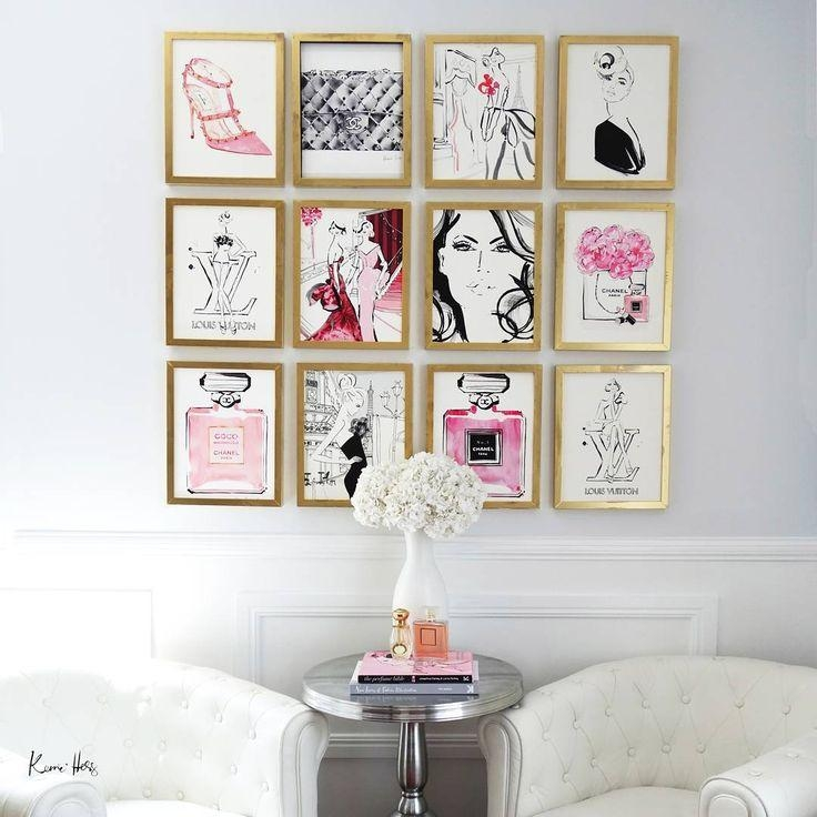 Best 25+ Fashion Wall Art Ideas Only On Pinterest | Fashion Decor Intended For Pinterest Wall Art Decor (View 9 of 20)