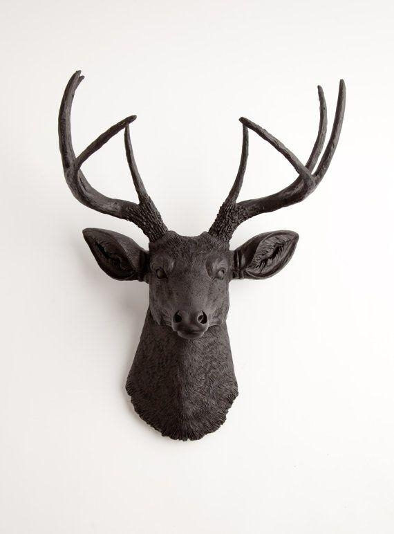 Best 25+ Faux Deer Head Ideas On Pinterest | White Deer Heads Intended For Stags Head Wall Art (Image 9 of 20)