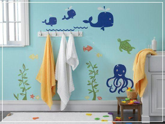 Best 25+ Fish Bathroom Ideas Only On Pinterest | Fishing Themed For Fish Decals For Bathroom (View 6 of 20)