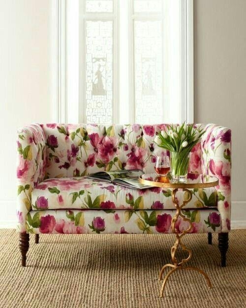 Best 25+ Floral Couch Ideas On Pinterest | Wall Murals Uk, Floral Intended For Floral Sofas (Image 5 of 20)