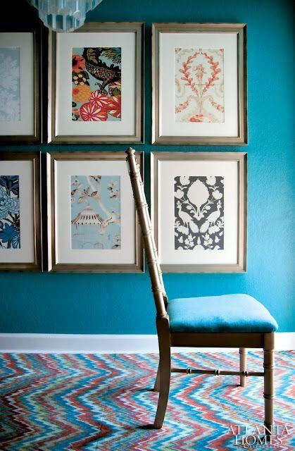 Best 25+ Framed Fabric Ideas On Pinterest | Framed Fabric Art For Framed Fabric Wall Art (Image 3 of 20)
