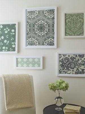 Best 25+ Framed Fabric Ideas On Pinterest | Framed Fabric Art Inside Framed Fabric Wall Art (Image 4 of 20)