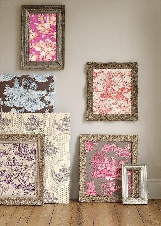 Best 25+ Framed Fabric Ideas On Pinterest | Framed Fabric Art Within Framed Fabric Wall Art (Image 8 of 20)