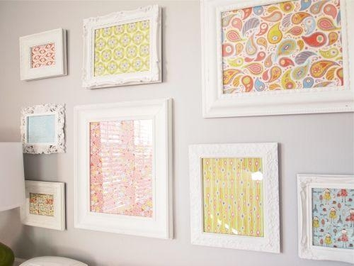 Best 25+ Framing Fabric Ideas On Pinterest | Fabric Corkboard, Diy With Regard To Framed Fabric Wall Art (Image 10 of 20)