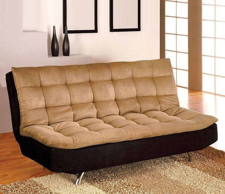 Best 25+ Futon Sofa Bed Ideas On Pinterest | Pallet Futon, Futon Throughout Small Black Futon Sofa Beds (Image 6 of 20)