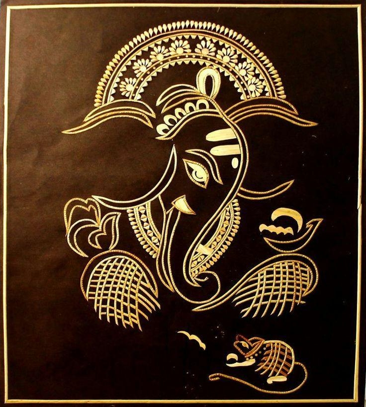 Best 25+ Ganesha Drawing Ideas On Pinterest | Ganesha, Hindu Art In Ganesh Wall Art (View 12 of 20)