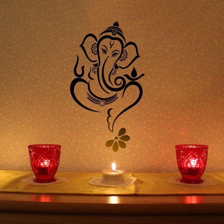 Best 25+ Ganesha Painting Ideas On Pinterest | Ganesha Drawing With Ganesh Wall Art (View 9 of 20)