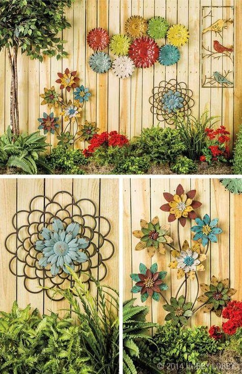 Best 25+ Garden Art Ideas Only On Pinterest | Diy Landscaping For Diy Garden Wall Art (View 14 of 20)