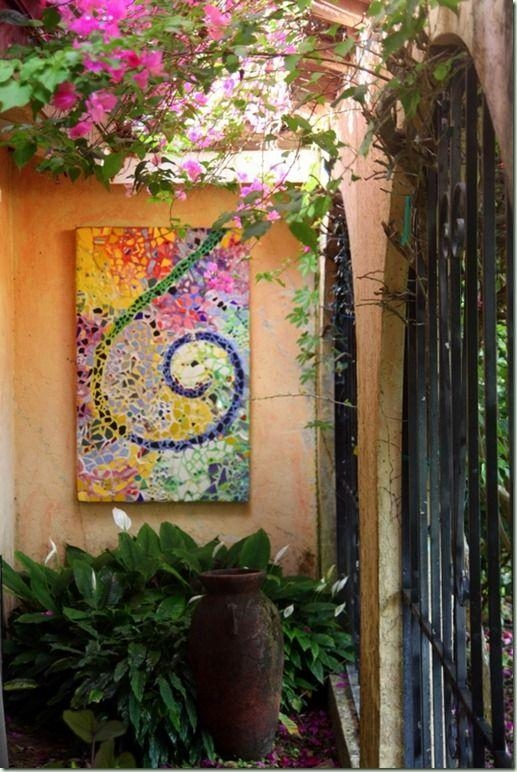 Best 25+ Garden Wall Art Ideas On Pinterest | Beach Rock Art In Diy Garden Wall Art (View 4 of 20)