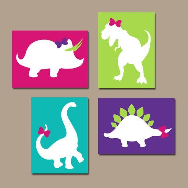 Best 25+ Girl Nursery Art Ideas On Pinterest | Baby Wall Art, Baby For Dinosaur Wall Art For Kids (View 13 of 20)