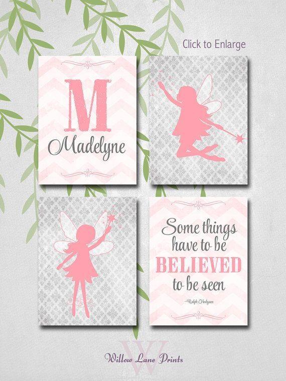 Best 25+ Girls Fairy Bedroom Ideas On Pinterest | Fairy Bedroom With Little Girl Wall Art (View 4 of 20)