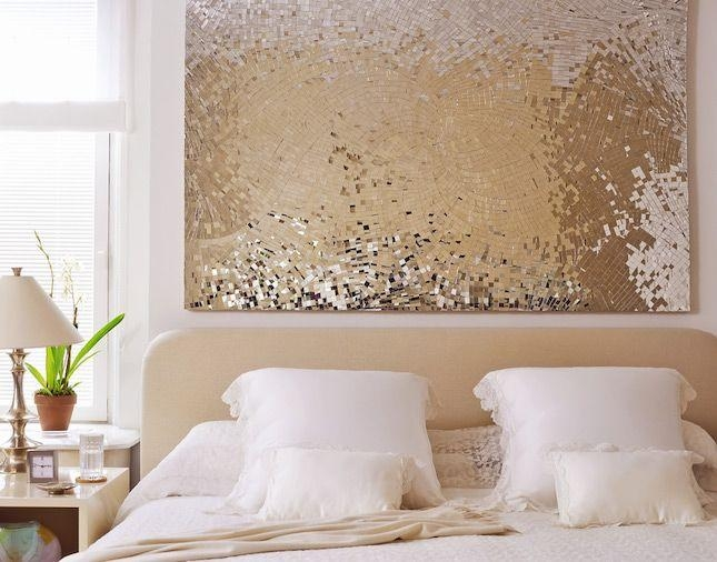 Best 25+ Gold Wall Art Ideas On Pinterest | Decorative Wall Regarding Silver And Gold Wall Art (Image 8 of 20)