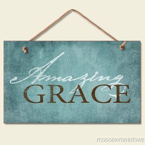 Best 25+ Grace Sign Ideas On Pinterest | Burlap Cross, Barn Board Regarding Grace Wall Art (View 3 of 20)