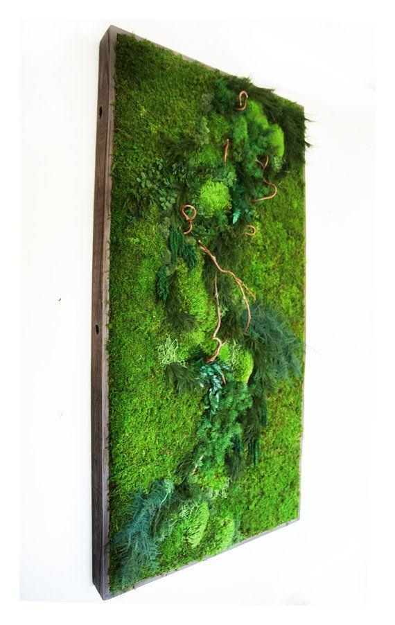 Best 25+ Green Wall Art Ideas On Pinterest | Moss Wall, Living In Large Green Wall Art (Image 7 of 20)