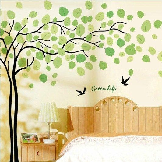Best 25+ Green Wall Stickers Ideas On Pinterest | Custom Wall With Yellow And Green Wall Art (Image 9 of 20)