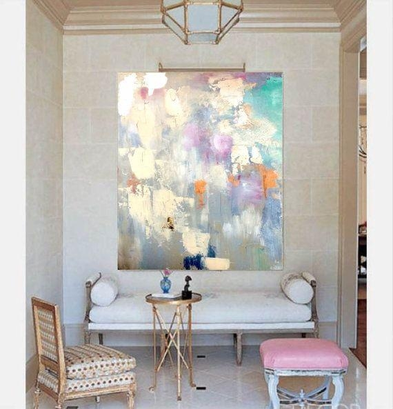 Best 25+ Grey Canvas Art Ideas On Pinterest | Blue Abstract With Regard To Pink And Grey Wall Art (Image 6 of 20)