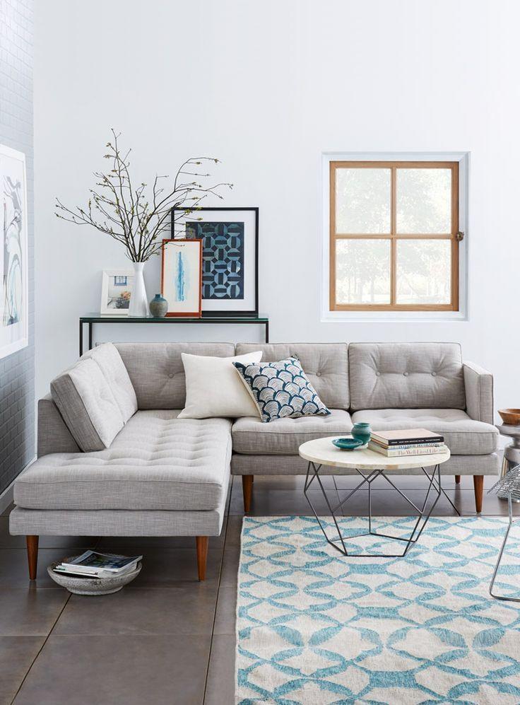 Best 25+ Grey Sofa Decor Ideas On Pinterest | Grey Sofas, Gray With Blue Grey Sofas (View 8 of 20)
