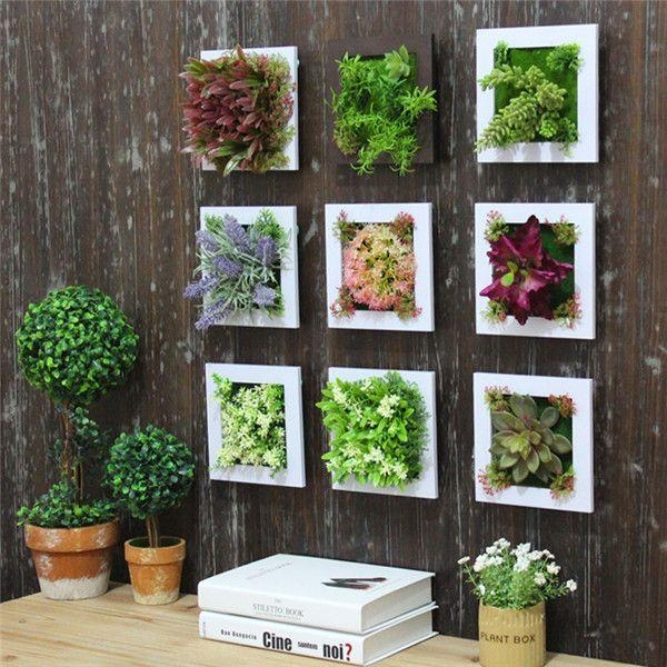 Best 25+ Hanging Wall Baskets Ideas On Pinterest | Hanging Basket Inside Floral & Plant Wall Art (Image 6 of 20)