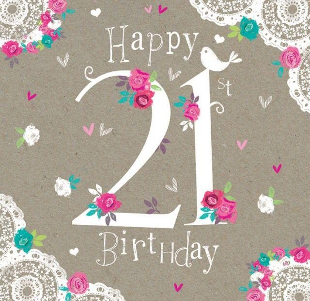 Best 25+ Happy 21St Birthday Wishes Ideas On Pinterest | 21St Intended For Happy Birthday Wall Art (Image 9 of 20)