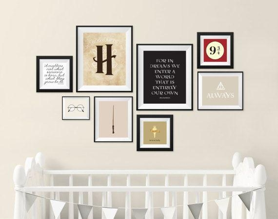 Best 25+ Harry Potter Wall Art Ideas On Pinterest | Harry Potter Throughout Wall Art Print Sets (View 17 of 20)