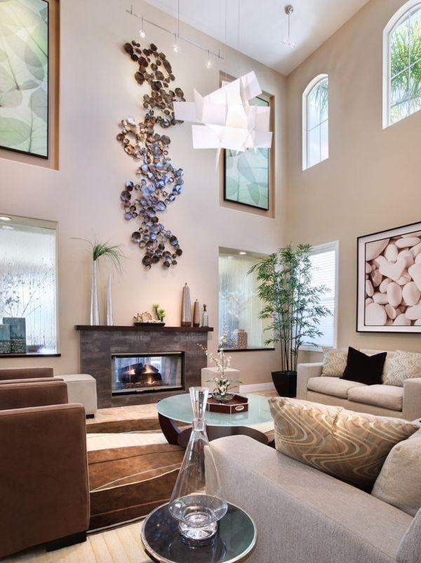 Best 25+ High Ceiling Living Room Ideas On Pinterest | High Pertaining To Tall Wall Art Decor (Image 12 of 20)