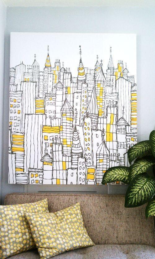 Best 25+ Homemade Art Ideas On Pinterest | Homemade Wall Art In Homemade Wall Art (View 9 of 20)