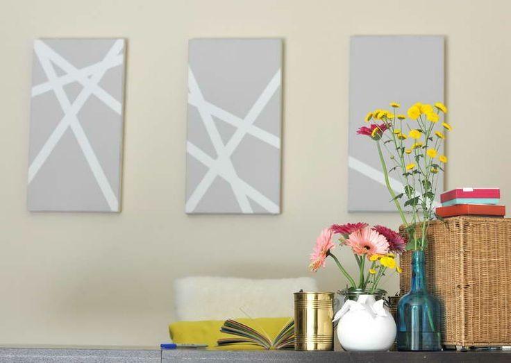 Best 25+ Homemade Canvas Art Ideas On Pinterest | Homemade Wall For Homemade Wall Art (View 8 of 20)