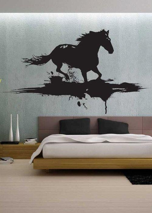 Best 25+ Horse Wall Decals Ideas On Pinterest | Horse Themed Intended For Modern Vinyl Wall Art (Image 7 of 20)