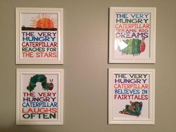 Best 25+ Hungry Caterpillar Nursery Ideas Only On Pinterest | Eric Inside The Very Hungry Caterpillar Wall Art (View 12 of 20)